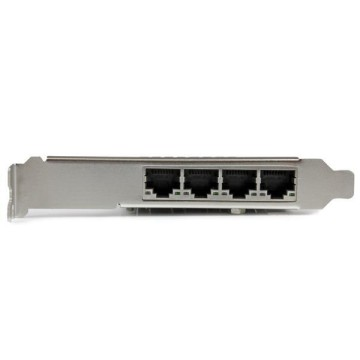 STARTECH PCIe Gigabit Power over Ethernet a 4 porte - Adattatore PCI express - Intel I350 NIC