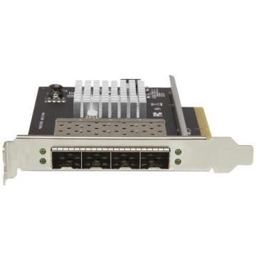 STARTECH Scheda di Rete per Server SFP+ a Quattro Porte - PCI Express - Chip Intel XL710