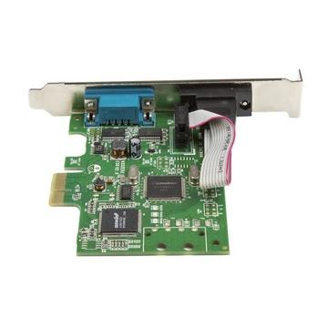 STARTECH Scheda Seriale PCI Express da 2 porte DB9 con UART 16C1050 - RS232