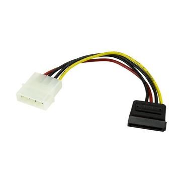 STARTECH Connettore interno alimentazione Molex SATA a 4 pin da 15 cm