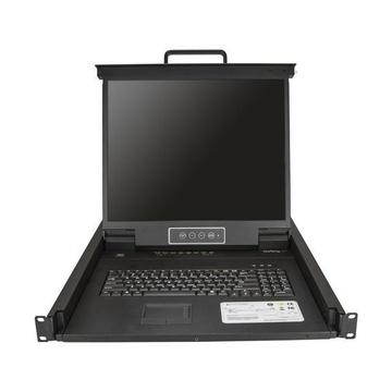 STARTECH Console KVM per armadio Rack a 8 porte VGA con schermo LCD - 19