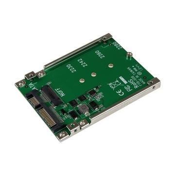 "STARTECH Convertitore adattatore SSD NGFF M.2 a SATA 2,5"""