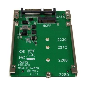 STARTECH Convertitore adattatore SSD NGFF M.2 a SATA 2,5