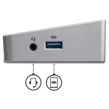 STARTECH Docking Station per Portatili USB-C a Tripla Uscita 4K - Power Delivery USB