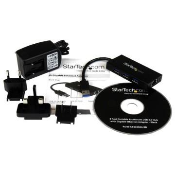 STARTECH Hub Portatile USB 3.0
