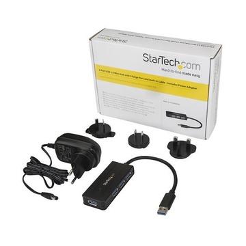 STARTECH Hub USB 3.0 a 4 porte Mini Hub USB