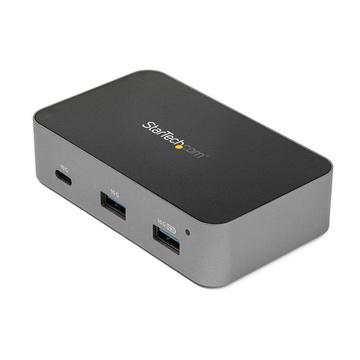 STARTECH Hub USB-C a 3 porte con porta LAN - 10 Gbps - 2 USB-A e 1 USB-C - Alimentato