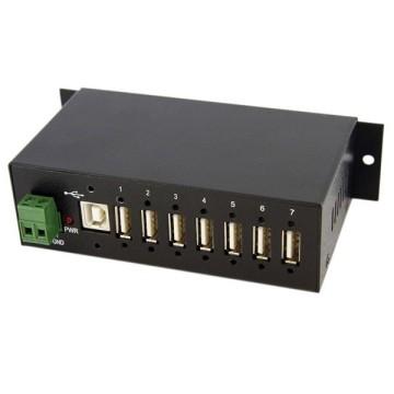 STARTECH Hub USB industriale a 7 porte