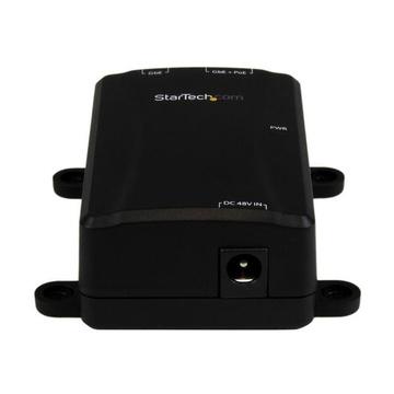 STARTECH Iniettore Gigabit PoE+ ad 1 porta - 802.3at e 802.3af