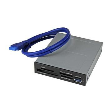 STARTECH Lettore interno di Schede memoria Flash USB 3.0 con supporto UHS-II