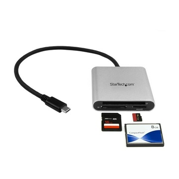 STARTECH Lettore Multischede esterno per Flash Card SD/MMC/CF USB 3.1 ( Tipo-C ) Gen 1 (5Gbps)