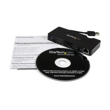 STARTECH Mini Docking Station Universale USB 3.0