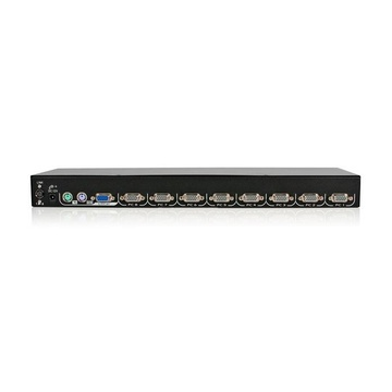 STARTECH Modulo Switch commutatore KVM USB PS/2 a 8 porte per console rack a LCD