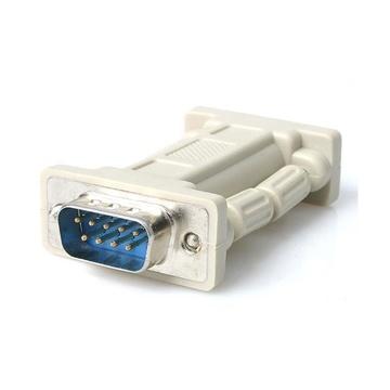 STARTECH Null Modem Adapter DB9 Male - DB9 Female Grigio