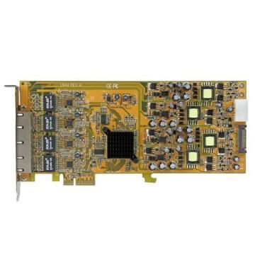 STARTECH PCIe Gigabit PoE a 4 porte PCI express PSE / POE - NIC