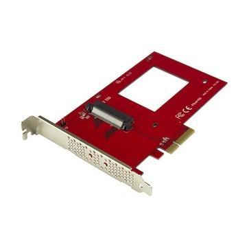 """STARTECH Scheda Adattatore PCI Express ad U.2 NVMe SSD - SFF-8639 da 2,5"""" PCIe 3.0 x4"""