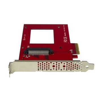 STARTECH Scheda Adattatore PCI Express ad U.2 NVMe SSD - SFF-8639 da 2,5
