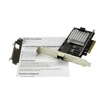 STARTECH Scheda di Rete PCI a Fibra Ottica SFP+