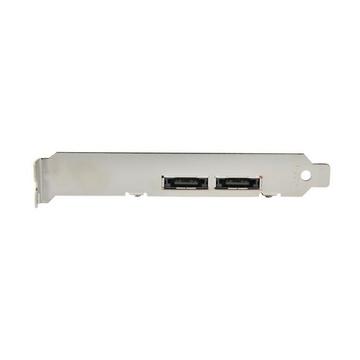 STARTECH Scheda eSATA Controller PCI Express a 2 porte 6 Gbps, SATA