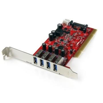 STARTECH Scheda Pci con 4 porte USB 3.0 SuperSpeed