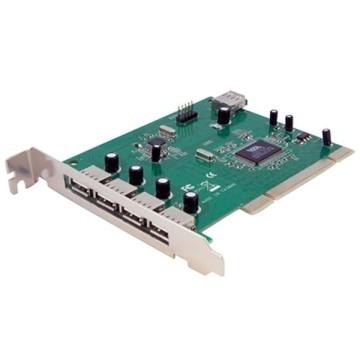 STARTECH Scheda Pci con 7 porte USB 2.0 ad alta velocità