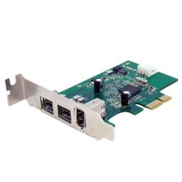STARTECH Scheda PCI-E FireWire 2b 1a 1394 Low Profile