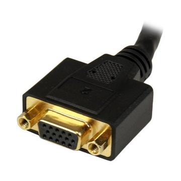 STARTECH Sdoppiatore DVI-I a DVI-D e HD15 VGA per thin client Wyse