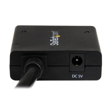 STARTECH Sdoppiatore Splitter HDMI 4k 30hz 1x2 da 1 a 2 porte Alimentato con Adattatore o USB