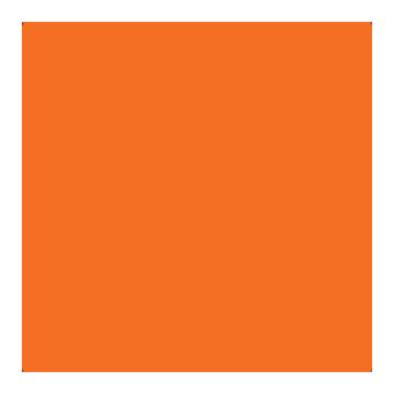Superior Fondale in cartoncino Bright Orange 1,31X11m