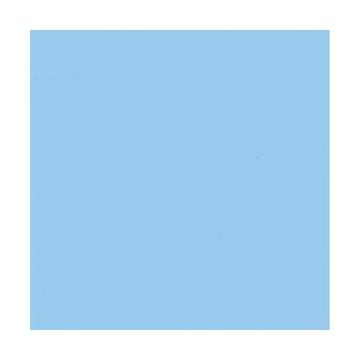 Superior Fondale in cartoncino Celeste 1,31x11m
