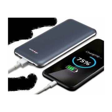 Swiss Smart Ultra Thin Power Bank 10200mAh Blu Cobalto