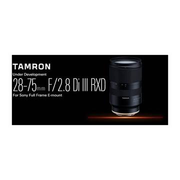 Tamron 28-75mm f/2.8 Di III RXD Sony E-Mount