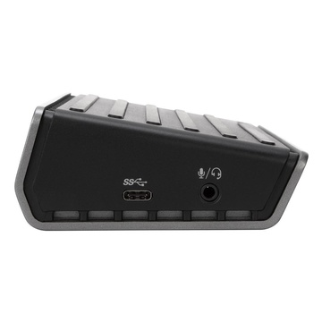 Targus DOCK180EUZ replicatore di porte e docking station per notebook Cablato USB 3.1 (3.1 Gen 2) Type-C Nero