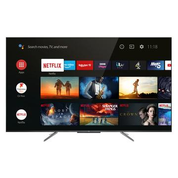 """TCL 50C715 QLed Smart TV 50"""" 4K Ultra HD Wi-Fi Titanium"""