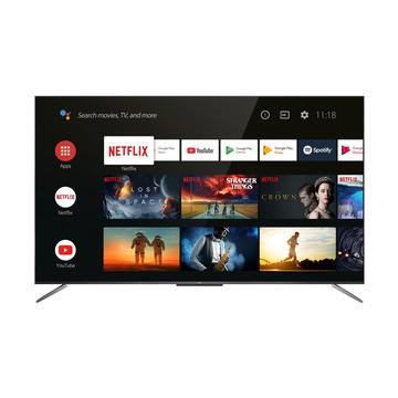 """TCL 65C715 QLed Smart TV 65"""" 4K Ultra HD Smart TV Wi-Fi Titanium"""