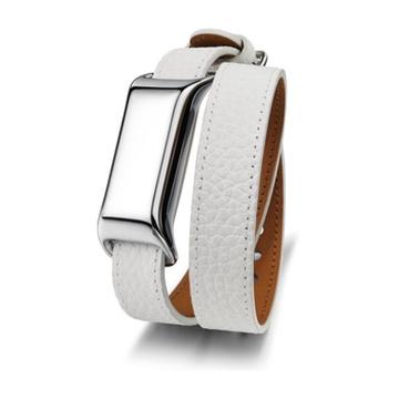 TCL MB12G Wristband Cromo, Bianco
