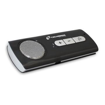 TECHMADE BTCC-001 vivavoce Universale Nero, Grigio Bluetooth