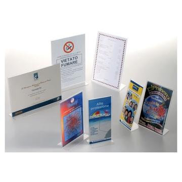 Tecnostyl PB porta documenti Acrilico Trasparente
