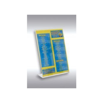 Tecnostyl PB001 porta documenti Acrilico Bianco