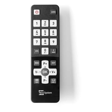 TELESYSTEM TELE System FACILE STEALTH/02 Cavo Full HD Nero