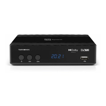 TELESYSTEM TELE System TS6818 Cavo Full HD Nero