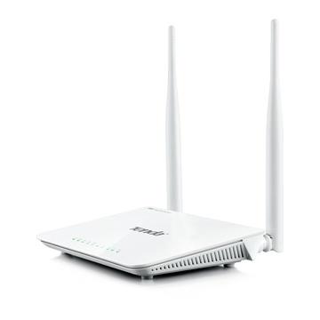 TENDA F300 router wireless Fast Ethernet Bianco