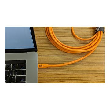 Tether Tools Cavo USB-C a USB-C M/M 4,6m Arancione