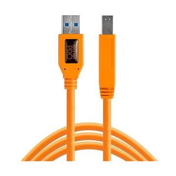 Tether Tools TetherPro USB 3.0 A-B Stecker 4,6m orange