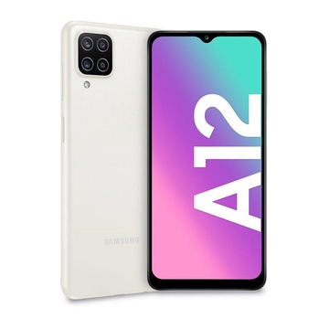 """Samsung Galaxy A12 6.5"""" Doppia SIM 128 GB Bianco TIM"""