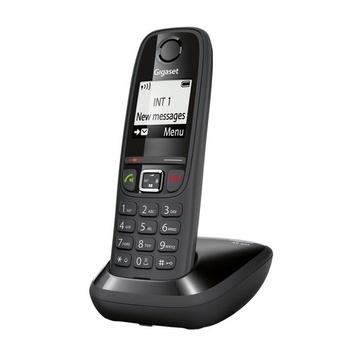 Tim Start Telefono DECT Nero Identificatore di chiamata