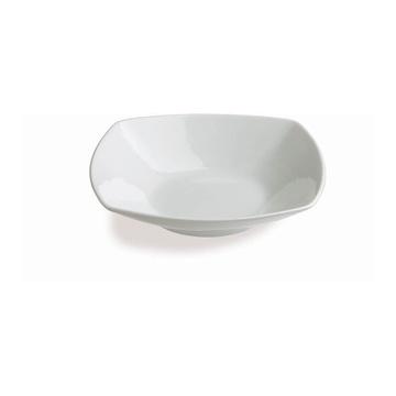 Tognana Porcellane TS001210000 piatto piano Quadrato Porcellana Bianco