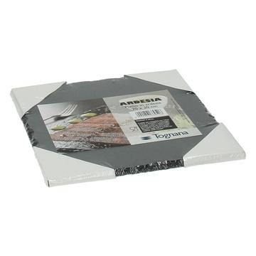 Tognana R390220ARDE piatto da portata Pietra Grigio Quadrato Piastra in ardesia