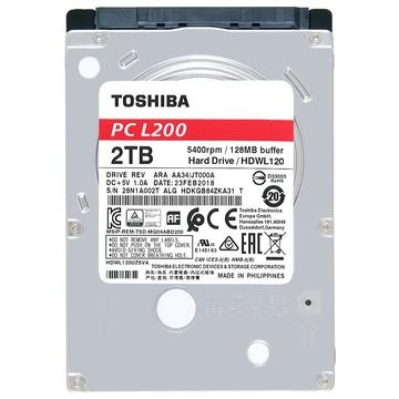 Toshiba L200 HDD 2TB SATA III 2.5