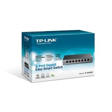 TP-Link 8 Porte Gigabit Easy Smart TL-SG108E